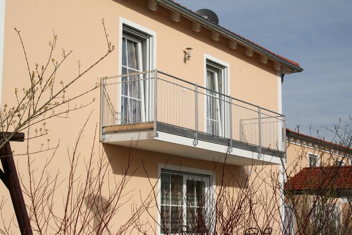 Balkon, feuerverzinkt, Modell 013